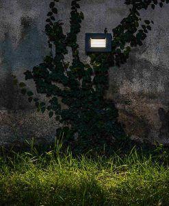 Lámpara empotrable gris oscuro SPARK-2 LED ambiente