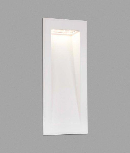 Lámpara empotrable vertical blanca SOUN-2 LED