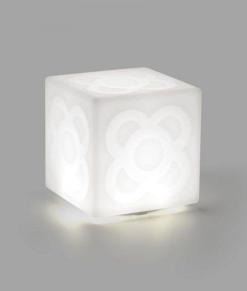 Lámpara portátil blanca LAMPANOT LED