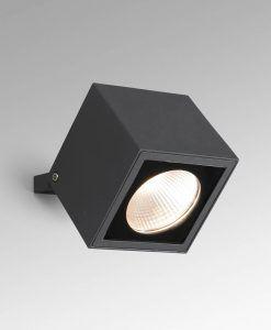 Lámpara proyector gris oscuro OKO LED