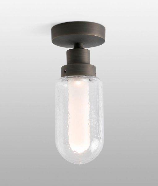 Plafón de baño bronce BRUME LED