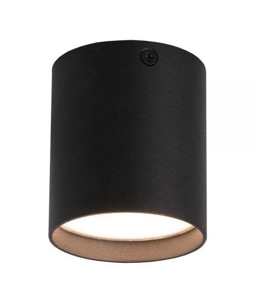 Plafón moderno HARU LED negro