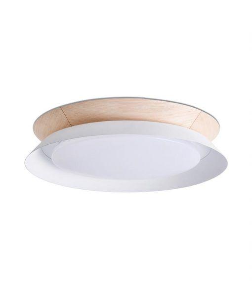 Plafón TENDER LED blanco 45 cm diámetro