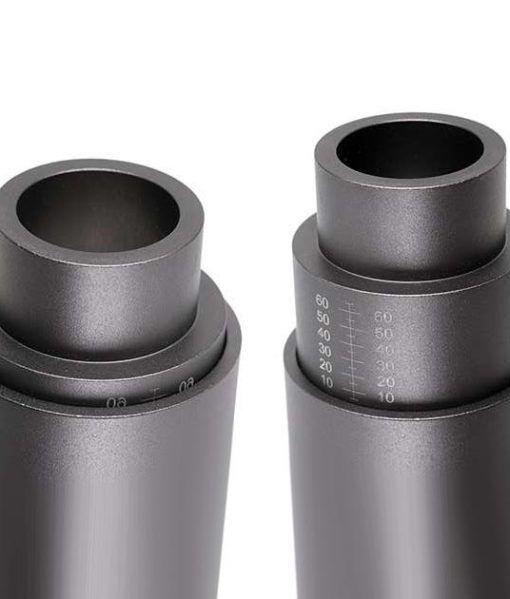 Proyector focalizado gris oscuro SHOW LED detalle