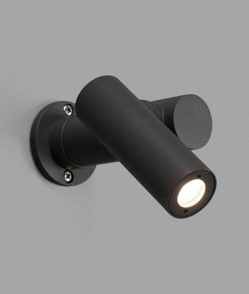 Sobremuro orientable gris oscuro SPY-1 LED