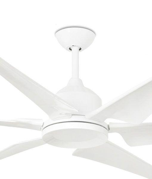 Ventilador blanco grande 210 cm de diámetro CIES detalles