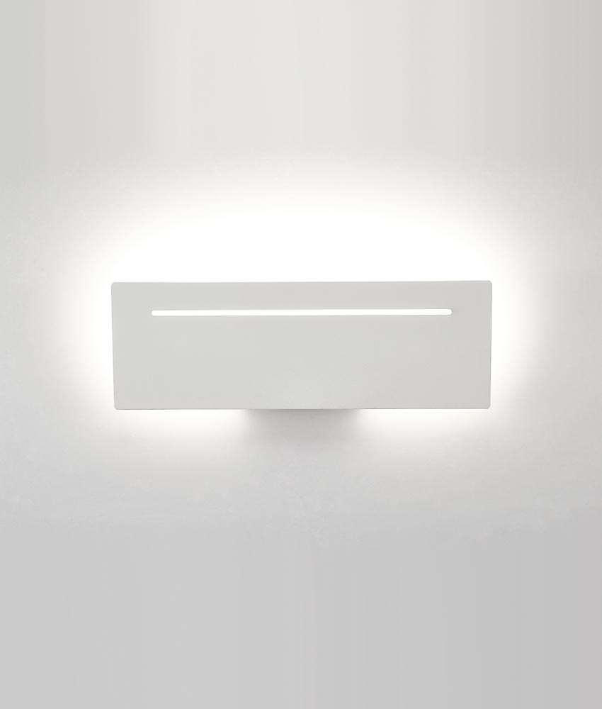 Aplique blanco 8W luz neutra TOJA LED
