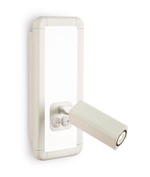 Aplique blanco IBIZA LED