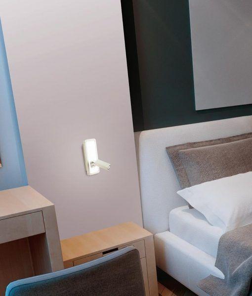 Aplique blanco IBIZA LED ambiente
