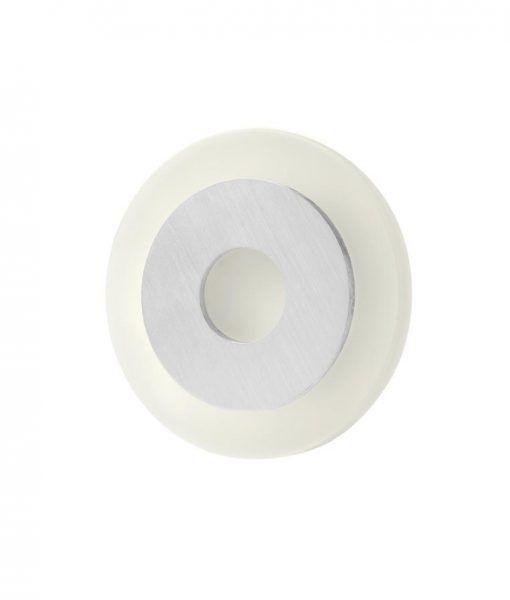 Aplique circular níquel satinado SOL LED detalle luz