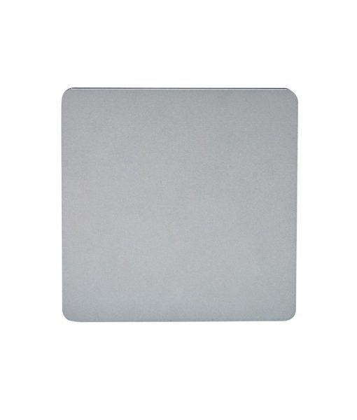 Aplique cuadrado LED plata BORA BORA