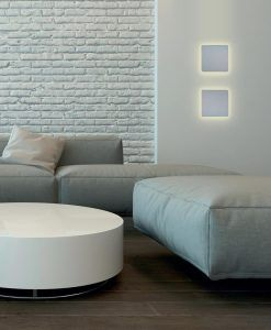 Aplique cuadrado LED BORA BORA ambiente