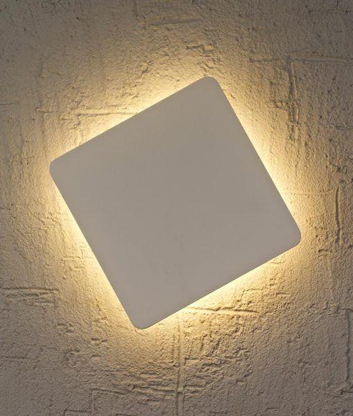 Aplique cuadrado LED BORA BORA detalle 2