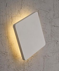 Aplique cuadrado LED BORA BORA detalle
