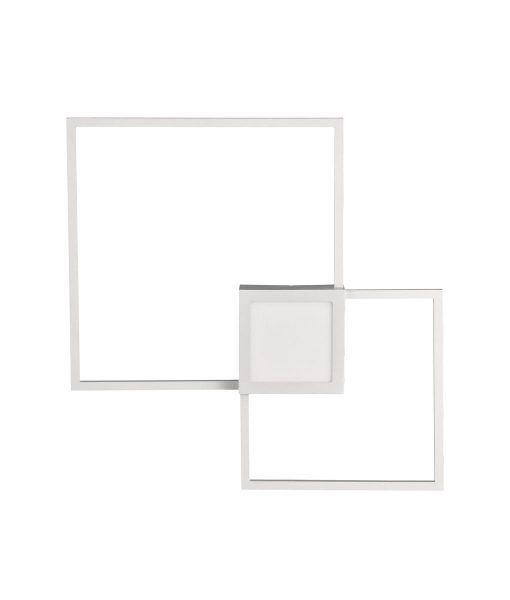 Aplique dimable grande blanco mate MURAL LED