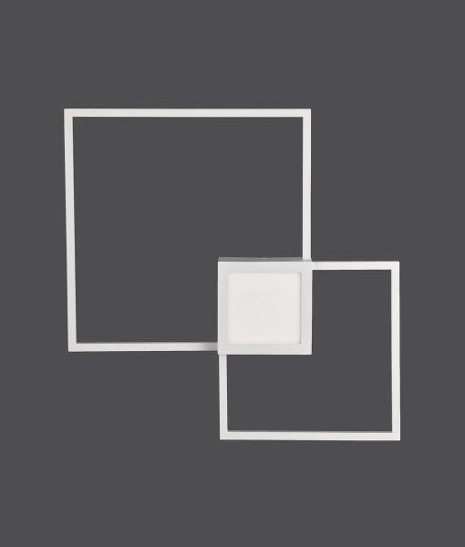 Aplique dimable grande blanco mate MURAL LED detalle