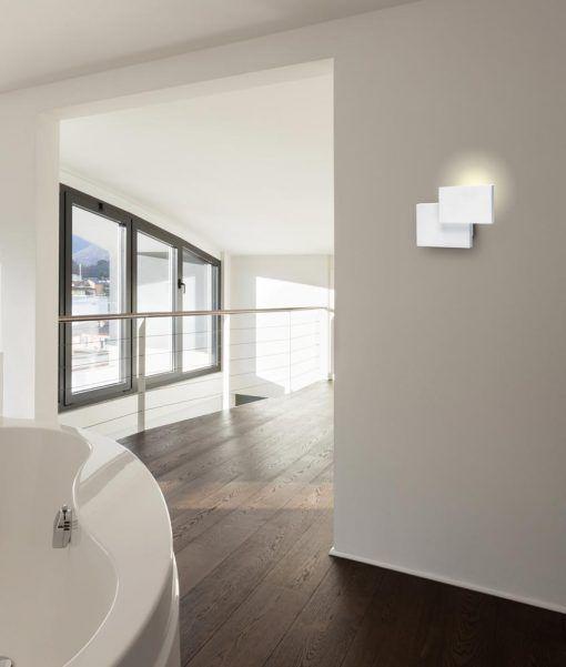 Aplique doble rectángulo blanco TAHITI LED ambiente