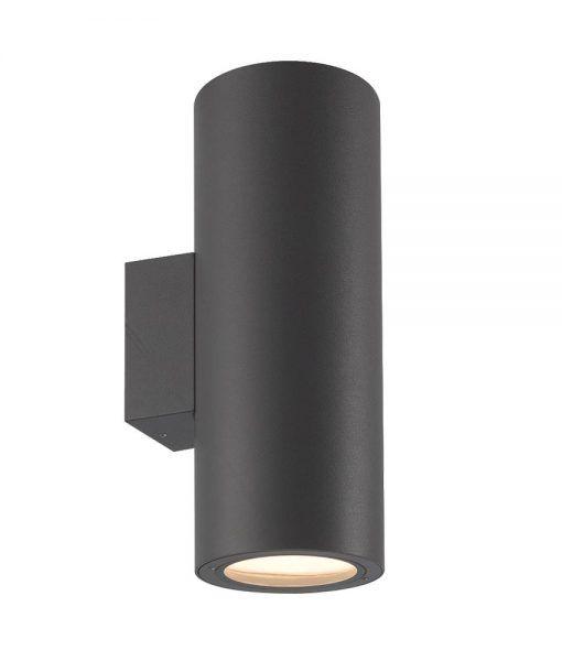 Aplique exterior gris oscuro 2 luces VOLCANO