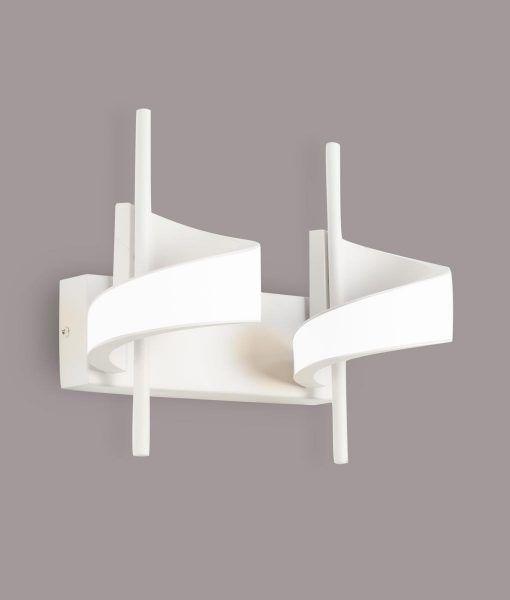 Aplique LED blanco 2 luces TSUNAMI