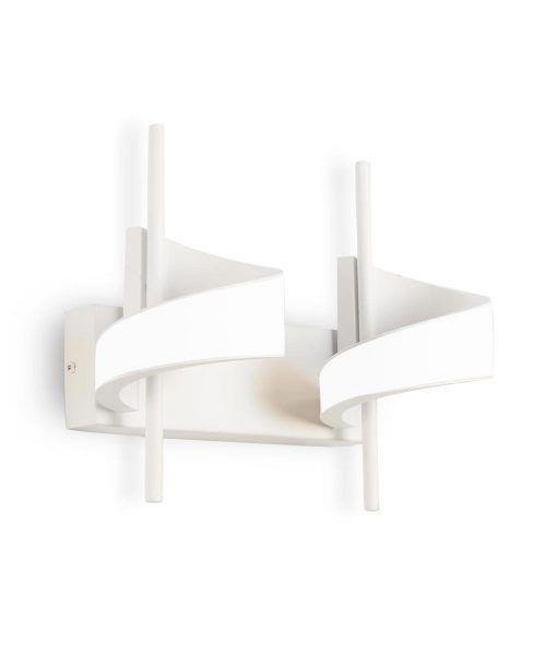 Aplique LED blanco 2 luces TSUNAMI detalle