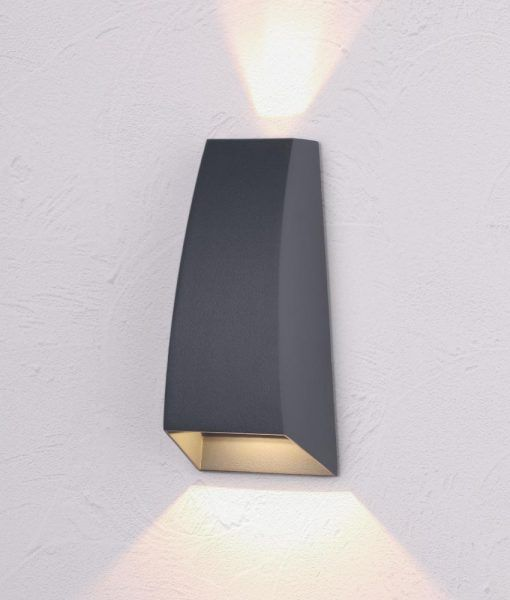 Aplique LED gris oscuro JACKSON detalle