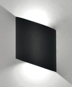 Aplique LED gris oscuro SOCHI