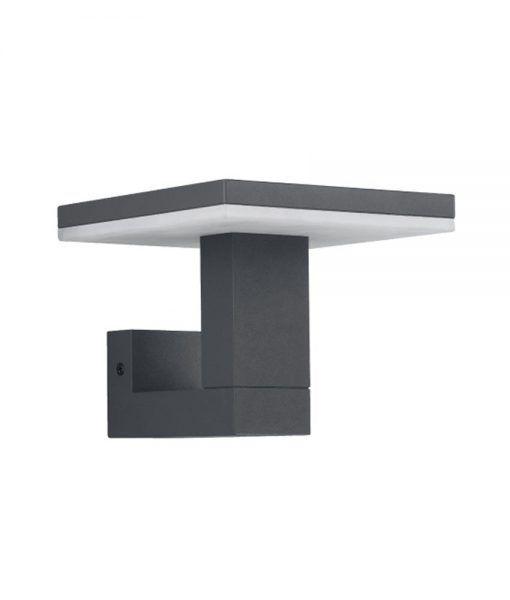 Aplique LED gris oscuro TIGNES