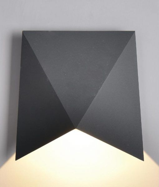 Aplique LED gris oscuro TRIAX