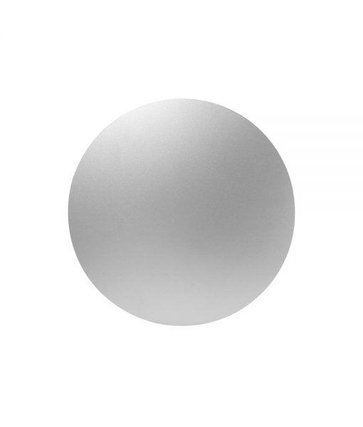 Aplique mediano 18 cm plata BORA BORA LED