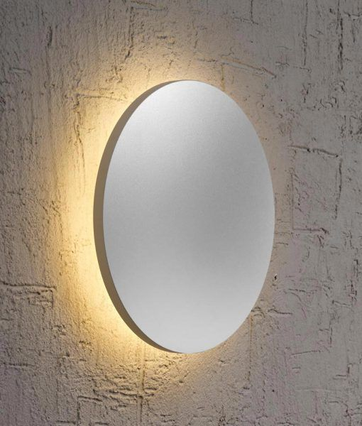 Aplique mediano plata BORA BORA LED
