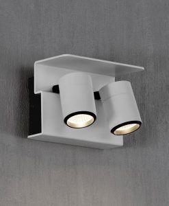 Aplique o foco blanco 2L luz cálida BORACAY LED detalle