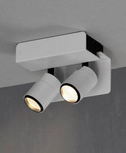 Aplique o foco blanco 2L luz neutra BORACAY LED detalle