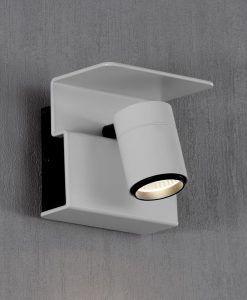 Aplique o foco luz cálida color blanco BORACAY LED detalle