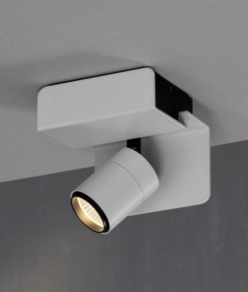 Aplique o foco luz neutra color blanco BORACAY LED detalle