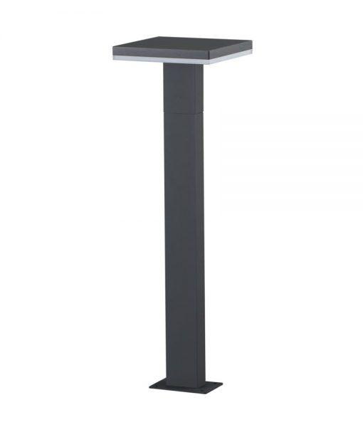 Baliza LED gris oscuro 100 cm de altura TIGNES