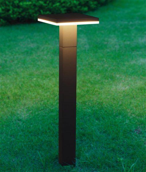 Baliza LED gris oscuro TIGNES