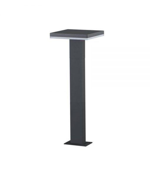Baliza LED gris oscuro 60 cm de altura TIGNES