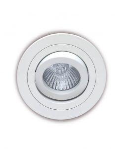Empotrable 9,2 cm Ø blanco BASICO GU10