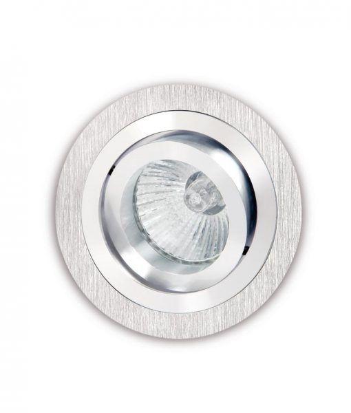 Empotrable 9,2 cm Ø níquel y cromo BASICO GU10
