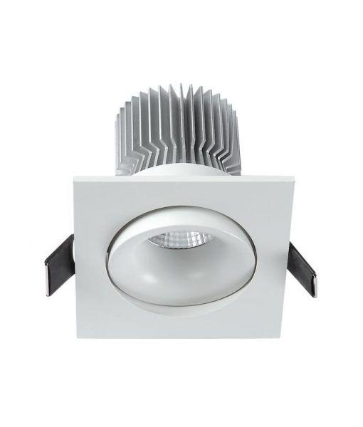 Empotrable cuadrado LED luz neutra 7W FORMENTERA