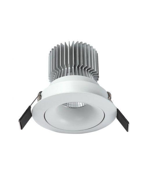 Empotrable LED luz neutra 12W 10,7 cm Ø FORMENTERA