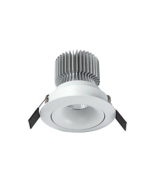 Empotrable LED luz neutra 7W 8 cm Ø FORMENTERA