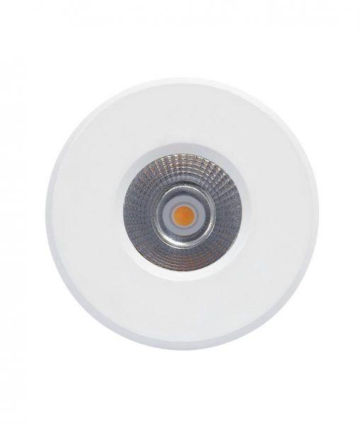 Empotrable LED luz neutra 7W 8,4 cm Ø CIES detalle