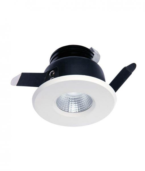Empotrable LED luz neutra 7W 8,4 cm Ø CIES detalle 2