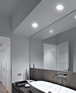 Empotrable LED 7W 9,2 cm Ø FORMENTERA ambiente