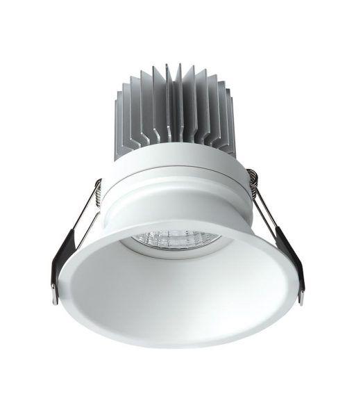 Empotrable luz cálida 12W 10,8 cm Ø FORMENTERA LED
