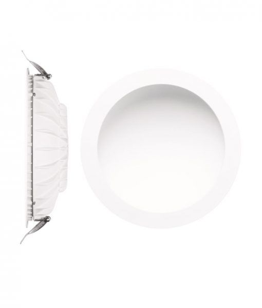Empotrable luz cálida 24W 22,5 cm Ø CABRERA LED