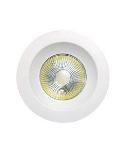 Empotrable luz cálida 5W 9,5 cm Ø BASICO COB LED