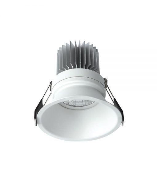 Empotrable luz cálida 7W 8 cm Ø FORMENTERA LED