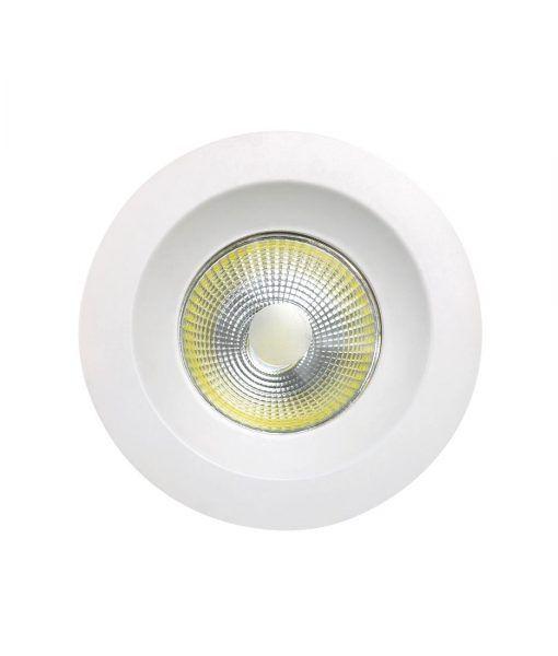 Empotrable luz neutra 5W 9,5 cm Ø BASICO COB LED